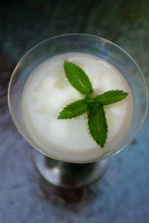 ... » Sgroppino Sparkling Wine with Lemon Sorbet Dessert Drink Recipe