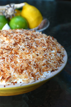 Recipes for coconut cream pie