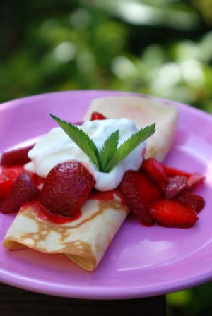 Recipes and crepes