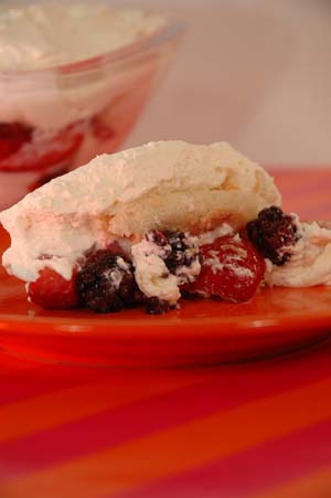 Barbara adams beyond wonderful berry and prosecco trifle for Prosecco dessert recipes