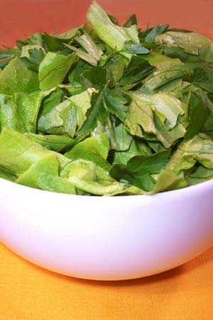 ... Wonderful » Butter Lettuce and Herbs with Mustard Dressing Recipe