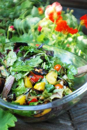 Barbara Adams Beyond Wonderful 187 Garden Salad With