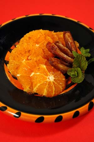 ... Beyond Wonderful » Moroccan Orange, Date and Almond Salad Recipe