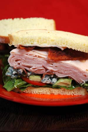 Barbara Adams Beyond Wonderful » Cobb Salad Sandwich Recipe