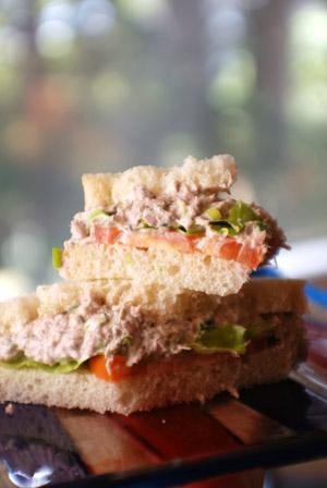 Tuna Fish Sandwich Recipe on Barbara Adams Beyond Wonderful    Tuna Fish Sandwich Recipe