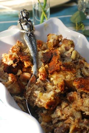 ... Beyond Wonderful » Chestnut-Sausage Stuffing Thanksgiving Recipe