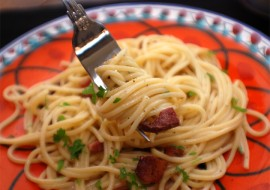 Blissfully Basic: My Favorite Spaghetti Carbonara -