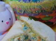Easter Egg Salad Sandwiches -