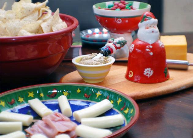 Paty food. Barbara Adams Beyond Wonderful Christmas Cookie Decorating Party.