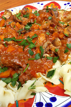 Barbara Adams Beyond Wonderful » Chicken Cacciatore Hunter Style ...