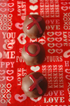 Chocolate-Kahlua Truffles candy recipe for Valentine's Day.