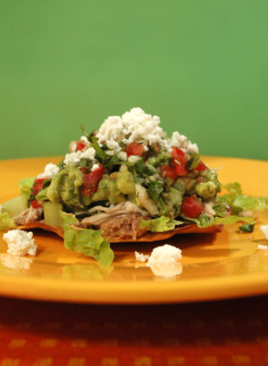 Barbara Adams Beyond Wonderful 187 Chicken Tostada Authentic Mexican Recipe