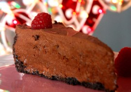 Chocolate Mousse Pie </br>Little Piece of my Heart -